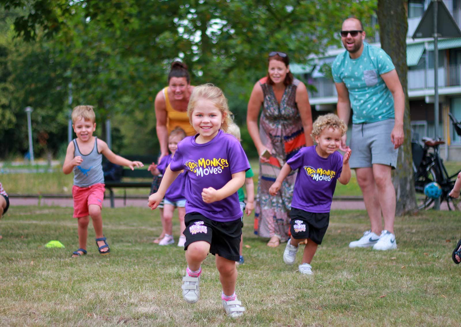 Leer(t) kinderen een leven lang gezond bewegen